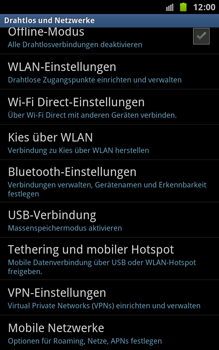 Samsung Galaxy Note - Internet - Apn-Einstellungen - 1 / 1