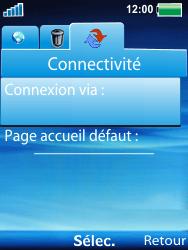 Sony W100i Spiro - Internet - Configuration manuelle - Étape 5