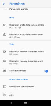 Google Pixel 3a - Photos, vidéos, musique - Créer une vidéo - Étape 10