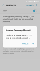 Samsung Galaxy S7 - Android N - Bluetooth - Jumelage d