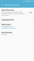 Samsung G925F Galaxy S6 edge - Android M - Netzwerk - Netzwerkeinstellungen ändern - Schritt 5