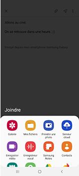 Samsung Galaxy A70 - E-mails - Envoyer un e-mail - Étape 13