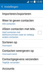 Samsung Galaxy Xcover 3 (SM-G388F) - Contacten en data - Contacten kopiëren van toestel naar SIM - Stap 7