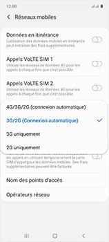 Samsung Galaxy A51 - Réseau - Comment activer une connexion au réseau 4G - Étape 7