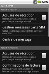 Samsung I7500 Galaxy - SMS - Configuration manuelle - Étape 5