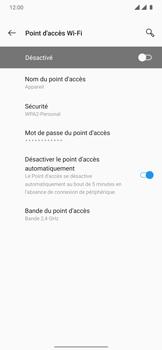 OnePlus 7T Pro - Internet et connexion - Partager votre connexion en Wi-Fi - Étape 7