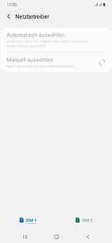 Samsung Galaxy A50 - Netzwerk - Manuelle Netzwerkwahl - Schritt 10