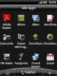 HTC Wildfire - Fehlerbehebung - Handy zurücksetzen - 5 / 10