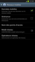 Samsung N7100 Galaxy Note II - Internet - configuration manuelle - Étape 8