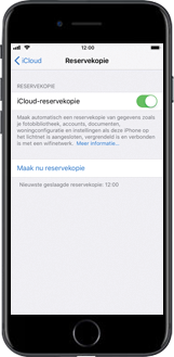 Apple iPhone 8 Plus (Model A1897) - Instellingen aanpassen - Back-up maken in je account - Stap 12