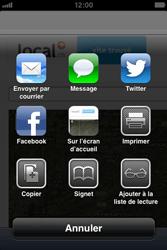 Apple iPhone 4S - Internet et roaming de données - Navigation sur Internet - Étape 9