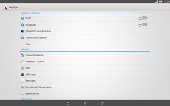 Sony Xperia Tablet Z2 LTE - Réseau - Sélection manuelle du réseau - Étape 4