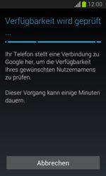 Samsung Galaxy Trend Lite - Apps - Einrichten des App Stores - Schritt 10