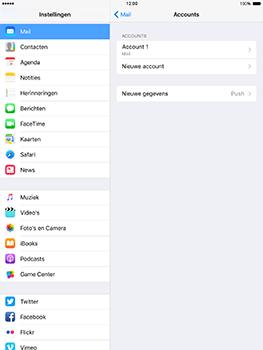 Apple iPad mini 4 iOS 10 - E-mail - e-mail instellen: POP3 - Stap 16