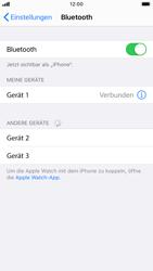 Apple iPhone 8 - iOS 14 - Bluetooth - Verbinden von Geräten - Schritt 8