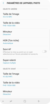 Samsung Galaxy S9 Plus - Photos, vidéos, musique - Créer une vidéo - Étape 10