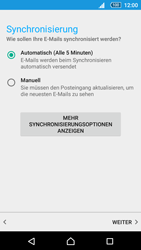 Sony Xperia Z5 Compact - E-Mail - Manuelle Konfiguration - Schritt 19