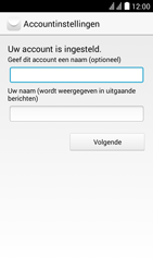 Huawei Y625 - E-mail - e-mail instellen: IMAP (aanbevolen) - Stap 17
