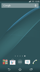 Sony Xperia Z3 Compact - Getting started - Installing widgets and applications on your start screen - Step 10