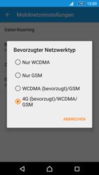 Sony E5603 Xperia M5 - Netzwerk - Netzwerkeinstellungen ändern - Schritt 7