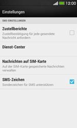 HTC Desire 500 - SMS - Manuelle Konfiguration - Schritt 8