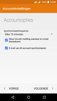 Acer Liquid Z630 - E-mail - e-mail instellen: POP3 - Stap 19