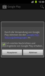 Samsung Galaxy Ace 2 - Apps - Konto anlegen und einrichten - 17 / 19