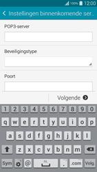 Samsung G901F Galaxy S5 Plus - E-mail - handmatig instellen - Stap 9