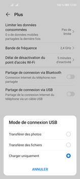 Huawei P40 Lite 5G - Internet et connexion - Utiliser le mode modem par USB - Étape 7