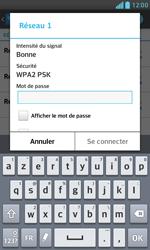 LG E975 Optimus G - Wifi - configuration manuelle - Étape 6