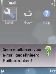 Nokia E75 - e-mail - handmatig instellen - stap 4