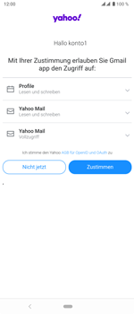 Sony Xperia 5 - E-Mail - 032b. Email wizard - Yahoo - Schritt 11
