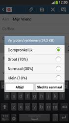 Samsung I9195 Galaxy S IV Mini LTE - E-mail - e-mail versturen - Stap 14