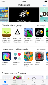 Apple Apple iPhone 7 Plus - Apps - Nach App-Updates suchen - Schritt 3