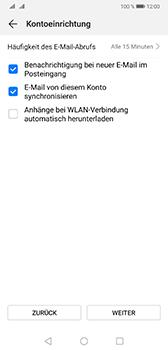 Huawei Mate 20 - E-Mail - Konto einrichten (yahoo) - Schritt 7