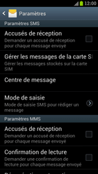 Samsung I9300 Galaxy S III - SMS - configuration manuelle - Étape 5
