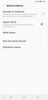 Samsung Galaxy S8 Plus - Android Oreo - Réseau - Sélection manuelle du réseau - Étape 6