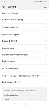 Huawei P30 - Startanleitung - So fügen Sie eine Tastatursprache hinzu - Schritt 4