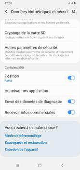Samsung Galaxy A10 - Sécuriser votre mobile - Personnaliser le code PIN de votre carte SIM - Étape 5