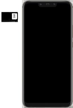 Huawei Mate 20 Lite - SIM-Karte - Einlegen - Schritt 5
