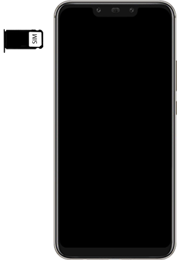 Huawei Mate 20 Lite - SIM-Karte - Einlegen - 5 / 8