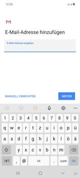 Samsung Galaxy Note 20 5G - E-Mail - Manuelle Konfiguration - Schritt 10