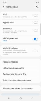 Samsung Galaxy Z flip - WiFi - Comment activer un point d'accès WiFi - Étape 5