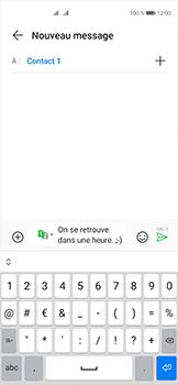 Huawei P40 - Contact, Appels, SMS/MMS - Envoyer un SMS - Étape 10
