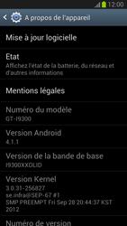 Samsung Galaxy S III - Logiciels - Installation de mises à jour - Étape 6