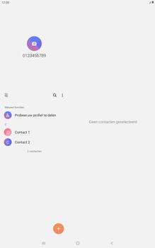 Samsung galaxy-tab-a-10-5-sm-t595-android-pie - Contacten en data - Contacten kopiëren van toestel naar SIM - Stap 4