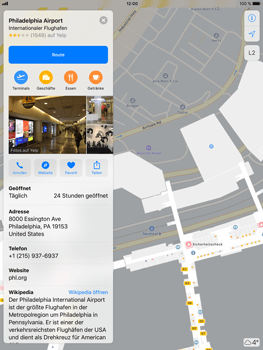 Apple iPad Air 2 - iOS 11 - Indoor-Karten (Einkaufszentren/Flughäfen) - 7 / 12