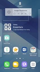 Samsung Galaxy A3 (2017) - Operazioni iniziali - Installazione di widget e applicazioni nella schermata iniziale - Fase 10