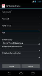 Motorola XT890 RAZR i - E-Mail - Konto einrichten - Schritt 9