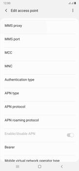 Samsung Galaxy Note 20 Ultra 5G - MMS - Manual configuration - Step 11
